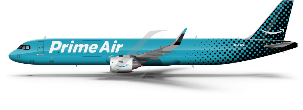 A321neo Freighter, Prime Air livery